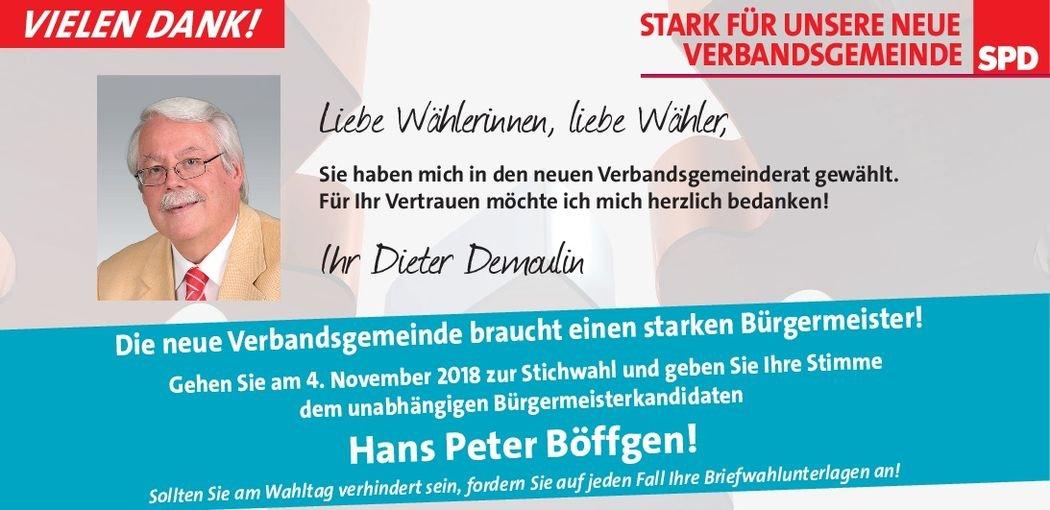 Pressemitteilung SPD – Hillesheimer Land