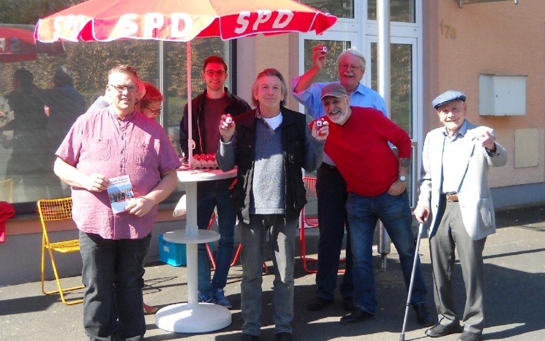 SPD-Ostereier-Aktion ein voller Erfolg!