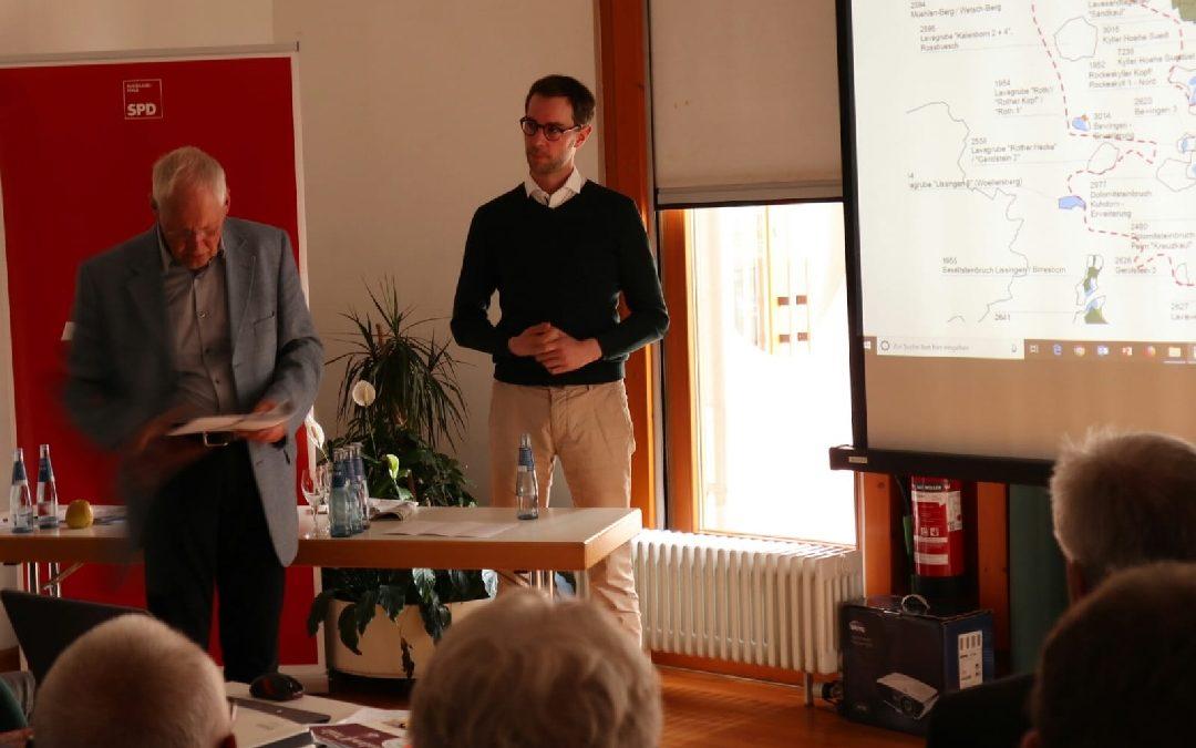 SPD informiert über Zukunft des Gesteinsabbaus in der Vulkaneifel