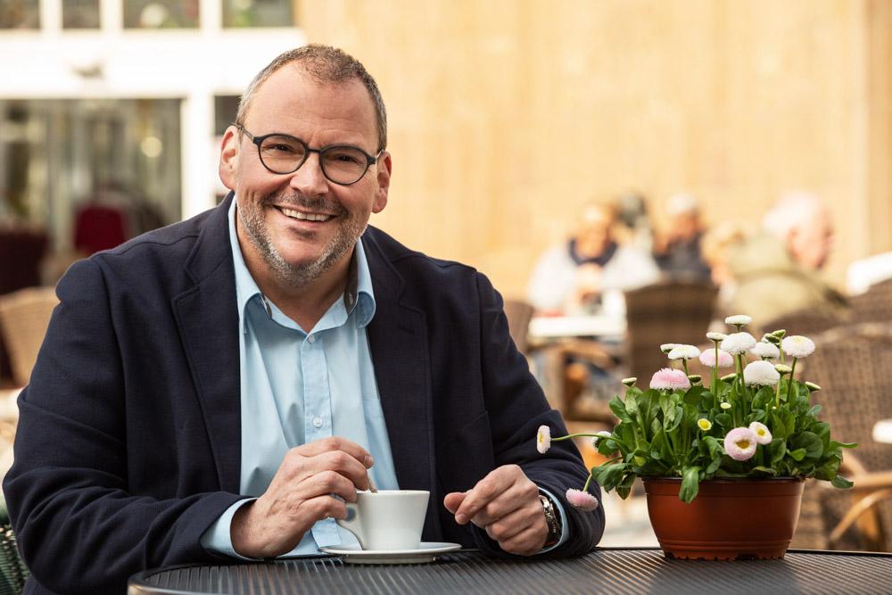 Auf einen Kaffee mit Uwe Schneider, Stadtbürgermeisterkandidat