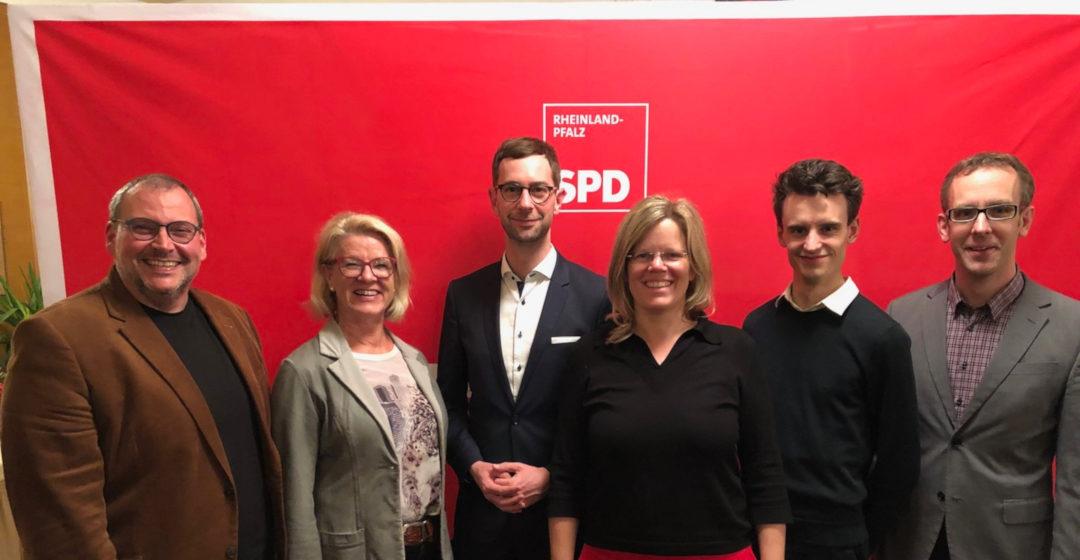 Neuwahlen bei der SPD-Vulkaneifel: Vorstandsteam wird jünger und weiblicher