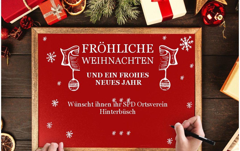 Weihnachtsgruß der SPD Hinterbüsch