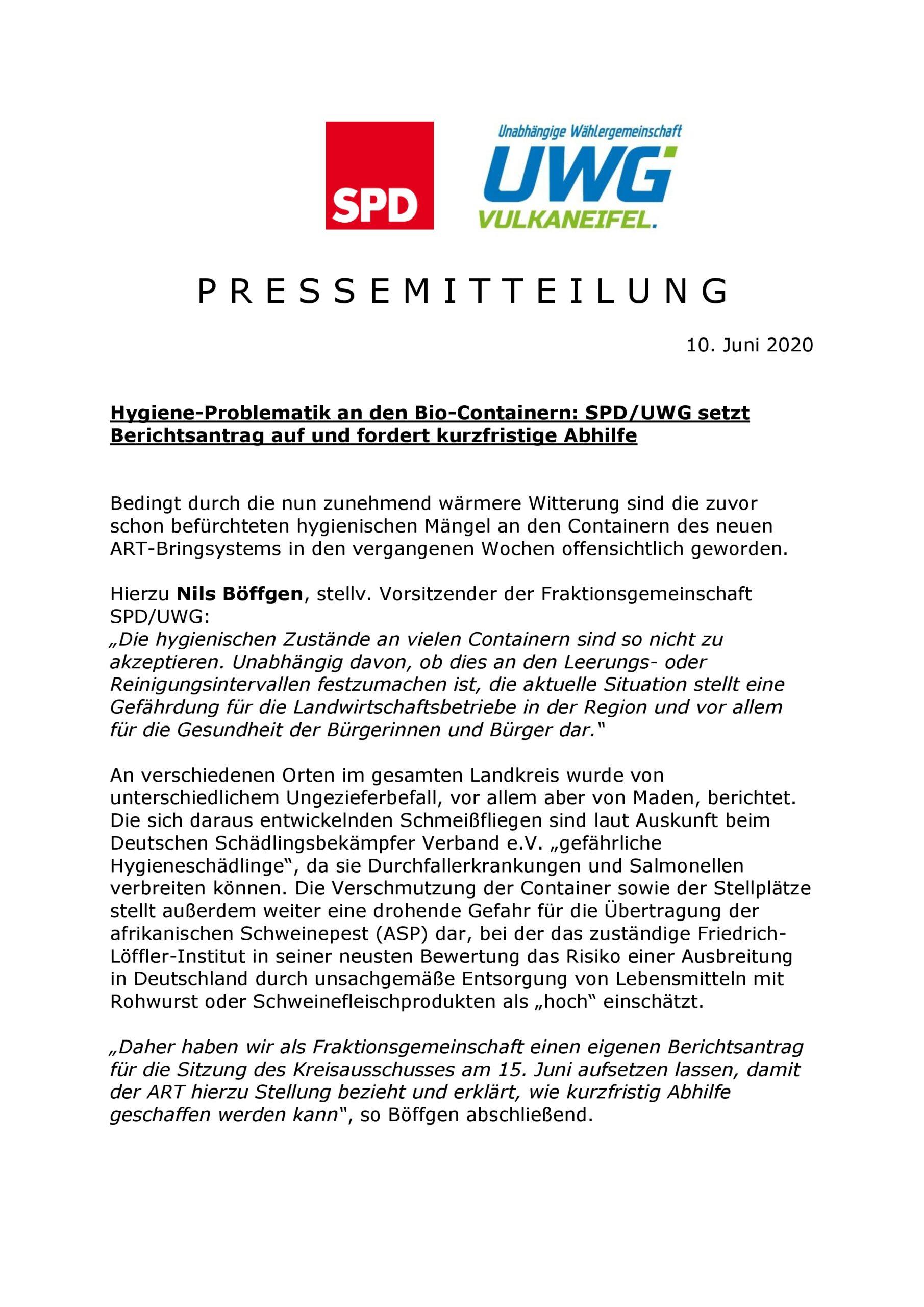 Hygiene-Problematik an den Bio-Containern_10.06.2020