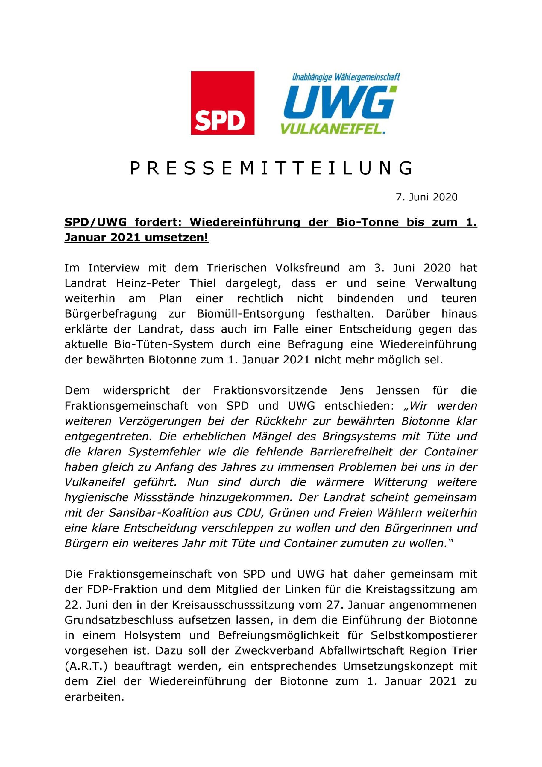 Wiedereinführung der Biotonne zum 1. Januar 2020 umsetzen__07.06.2020-001