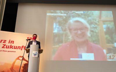 SPD nominiert Astrid Schmitt einstimmig zur Landtagskandidatin