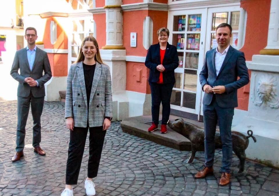 SPD-Kreisverbände im Bundestagswahlkreis 202 Bitburg: Junge SPD-Kandidatin für den Bundestag